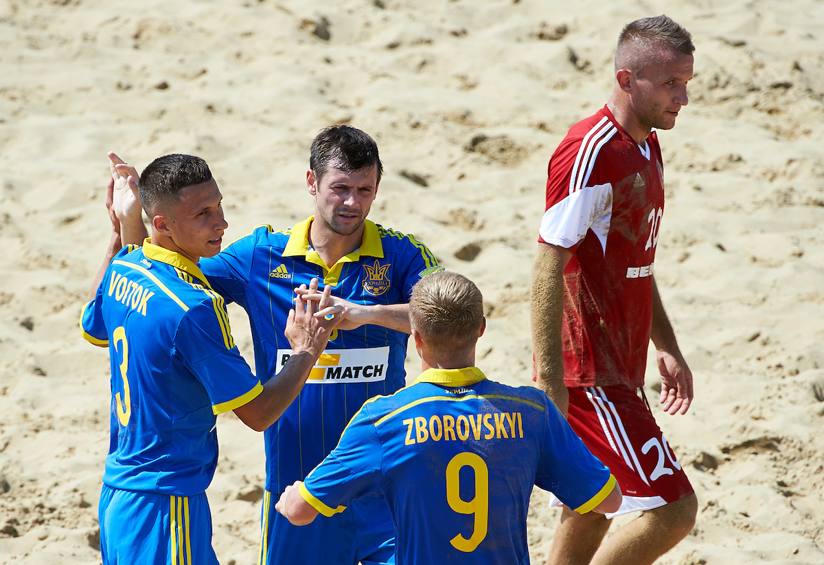 Catania, Italy - August, 25 Euro Beach Soccer League Superfinal Catania 2016 at DomusBet arena on August 25, 2016 in Catania, Italy. (Photo by Lea Weil)